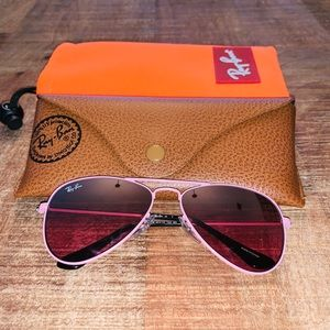 Authentic Children's Pink Ray Bans!